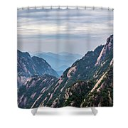 5818- Yellow Mountains  Shower Curtain