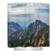 5862 Yellow Mountains Shower Curtain