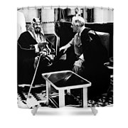 Franklin D. Roosevelt Shower Curtain by Granger
