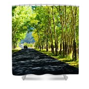 Nature Landscape Work Shower Curtain