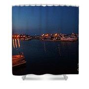 Racine Coastal Seascape - Michigan Lake In Wisconsin By Adam Asar Shower Curtain