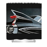 '59's Fleetwood Shower Curtain