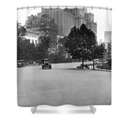 59th Street By Central Park Shower Curtain
