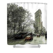 5th Avenue Odyssey  Shower Curtain