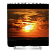 6-10-16--0827 Don't Drop The Crystal Ball Shower Curtain