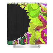 6-12-2015abcde Shower Curtain