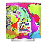6-19-2015dabcdefghijklmnopqrtuvwxyza Shower Curtain