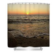 6-6-16--0576 Don't Drop The Crystal Ball Shower Curtain