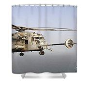 A U.s. Marine Corps Ch-53e Super Shower Curtain