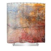 Abstrait  Shower Curtain