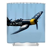 Aircraft Shower Curtain