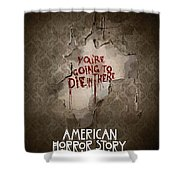 American Horror Story 2011 Shower Curtain