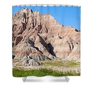 Badlands National Park South Dakota Shower Curtain