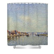 Banks Of The Loing Shower Curtain