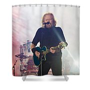 Barry Gibb Shower Curtain