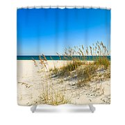 Beautiful Beach Shower Curtain