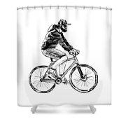 Bike Life  Shower Curtain
