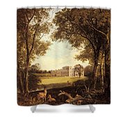 Boddington Henry John A View Of Norton Hall Henry John Boddington Shower Curtain