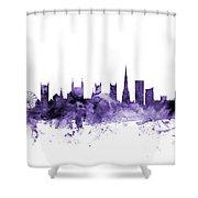 Bristol England Skyline Shower Curtain