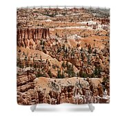Bryce Canyon - Utah Shower Curtain