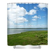 Cape Cod Salt Pond Shower Curtain
