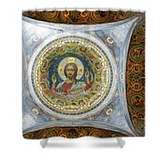 Church Of The Savior On Spilled Blood  Shower Curtain
