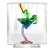Cocktails Collection Shower Curtain