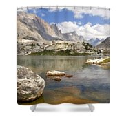 Drawings Landscapes Shower Curtain