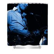 #6 Enhanced In Blue Shower Curtain