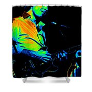 #6 Enhanced In Cosmicolors Shower Curtain