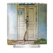 Entrance Shower Curtain