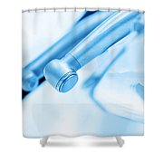 Equipment And Dental Instruments In Dentist's Office Shower Curtain