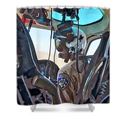 H80 Crew 3 Shower Curtain by Jim Thompson