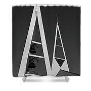 Icelandic Church Shower Curtain