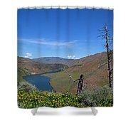 Idaho Landscape Shower Curtain