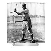 Jackie Robinson (1919-1972) Shower Curtain
