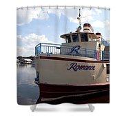Lake Monroe At The Port Of Sanford Florida Shower Curtain