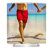 Lanikai Beach Shower Curtain