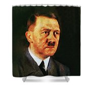 Leaders Of Wwii, Adolf Hitler Shower Curtain