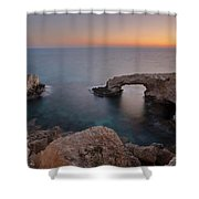 Love Bridge - Cyprus Shower Curtain