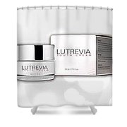 Lutrevia Youth Cream Shower Curtain