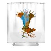 Lyrebird Shower Curtain