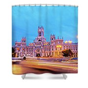 Madrid, Spain Shower Curtain
