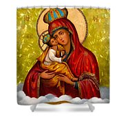Mary And Child Religious Art Shower Curtain