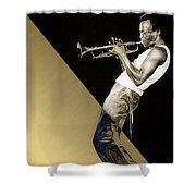 Miles Davis Collection Shower Curtain