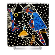Murle South Sudanese Wise Virgin Shower Curtain