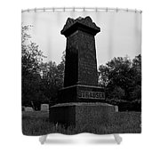 Odd Fellows Cemetery Shower Curtain