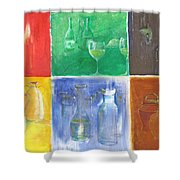 6 Panes Of Existence Shower Curtain