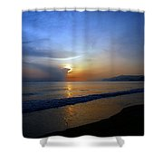 Playa Huequito Shower Curtain