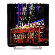 Radio City Rockettes New York City Shower Curtain